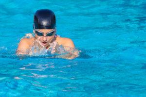 Schwimmbrille mit Dioptrien